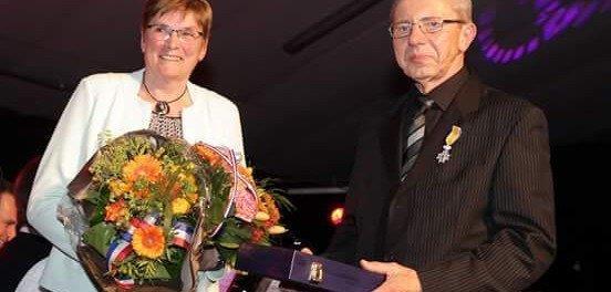 Koninklijke onderscheiding voor Chris Kuppen